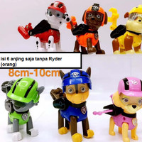 Mainan Anak Pajangan Action Mini Figure Canine PAW Patrol Rescue Dogs