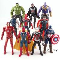 Action Figure Marvel Avenger Avengers Infinity War End Game Superhero