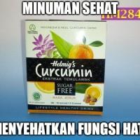 Minuman Effervescent Tanpa Gula Curcumin Helmig HM284