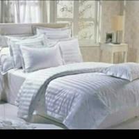 SPREI HOTEL 180 X 200 X 40 BAHAN MICROTENCEL (KATUN JEPANG)