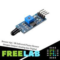 Sensor Api / IR Infrared Flame Sensor dengan Output Analog dan Digital