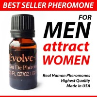 EVOLVE Oil Unscented by PheromoneXS for MEN made in USA