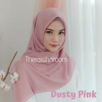 jilbab hijab voal ultrafine premium mylady polos pink