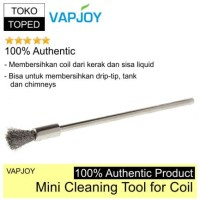 Authentic Vapjoy Mini Cleaning Brush Tool for Coil | sikat kawat rda