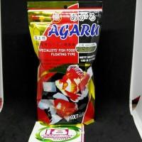 Makanan Pakan Ikan mas koki hias AGARU Floating Type 100gr