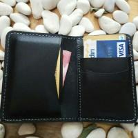 dompet kartu kulit asli muat banyak