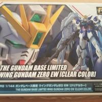 RG Wing Zero Custom Gundam Base Limited