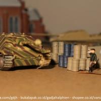WTM 1/144 - Jadgpanther - World Tank Museum by Takara - Miniatur