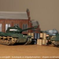 WTM 1/144 - JS 2m Tank - World Tank Museum by Takara - Miniatur