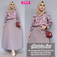 Setelan Rok Dan Blouse All Model Motif Monalisa Original Adieva2