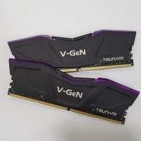 V-GeN Tsunami DDR4 PC21000 2666Mhz Dual Channel 16GB (2x8GB)