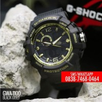 Jam Tangan Casio G-Shock GWA-1100 Black Gold