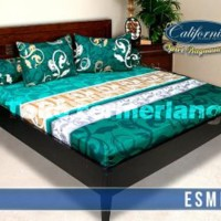 SPRAI CALIFORNIA ESME NO.1 180 SEPERAI BED SELIMUT BED COVER MURAH