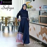 Best Baju gamis wanita kombinasi batik/gamis terbaru kekinian Lembut