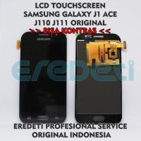 SPAREPART HP LCD TOUCHSCREEN SAMSUNG J1 ACE J110 J111 BISA KONTRAS