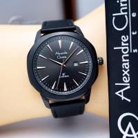 Jam Tangan Wanita alexander cristie ac8587 full hitam