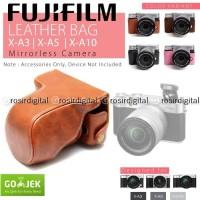 Leather Case Fujifilm X-A3 X-A10 X-A2 X-A5 Leather bag Fuji XA5 Tas
