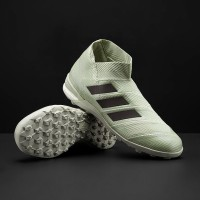 Sepatu Futsal adidas Nemeziz Tango 18+ TF - Ash Silver Core Black Whit 8b797229ec