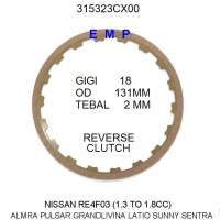 NISSAN GRAND LIVINA SUNNY RE4F03A-B MATIC KAMPAS REVERSE 3153231X00