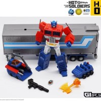 Hot Soldier HS02 - OPTIMUS PRIME + Trailer + BONUS Gift / Mini MP10