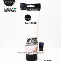Daler Rowney Simply Mother Of Pearl 250 ml ( Cat Acrylic )