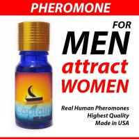 CAPTAIN Oil Unscented by Pheromone Treasures for MEN made in USA