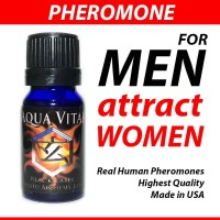 AQUA VITAE Unscented by Liquid Alchemy Labs USA Pheromone untuk PRIA