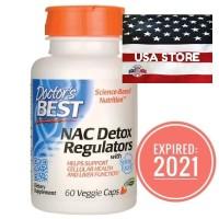 DOCTOR NAC Detox Regulators 60 Veggie Caps Doctor's Best