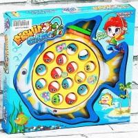 Mainan Bayi Anak Fishing Game 15in1