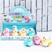 Mainan Putar/Tarik Bayi Anak Swimming Duck