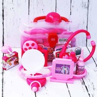 Mainan Bayi Anak Doctor Medical Kit - Pink