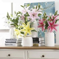 Casablanca Lily - Artificial Lily Flower - Lilies - Artificial Flower