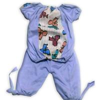 setelan anak perempuan / setelan bayi / baju bayi murah