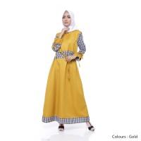 Maika Dress Gold