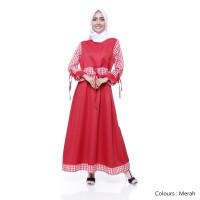 Maika Dress Merah Hati