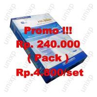 Kertas PVC Bahan ID Card Instan - White
