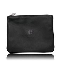 Armando Caruso 9002 Large Leather Brush Bag Black thumbnail
