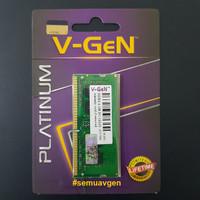 SODIMM DDR4 4GB PC-19200/2400 Mhz RAM Laptop/Notebook V-GeN PLATINUM