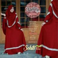 Gamis Syari Nabila Original Sohib Plus Jilbab