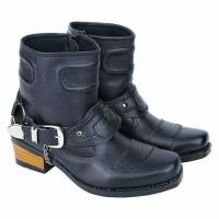 Premium - Sepatu Boot Harley Davidson KOkoh - Sepatu Moge Koboy CT ori