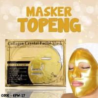 Harga buy 1 get 1 masker topeng gold bio collagen facial mask masker | Pembandingharga.com