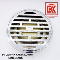 Harga floor drain stainless san ei 4 inch   Pembandingharga.com