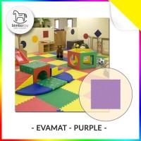 Bimbozone - Karpet Puzzle Evamat Ungu   Evamat 30x30cm - Purple