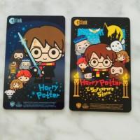 EZlink kartu bus mrt sg limited ed Harry Potter (Sorcerer's Stone)