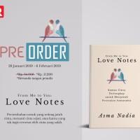 Harga for me to you love note asma nadia buku novel | Pembandingharga.com