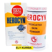 Herocyn Powder 150 gr / Bedak Untuk Obat Kulit