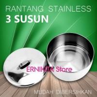Rantang Makanan/Catering Stainless 3 Susun New