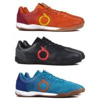 Sepatu Futsal OrtusEight Catalyst Oracle IN - Ortrange & Black