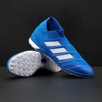 Sepatu Futsal adidas Nemeziz Tango 18+ IN - Football Blue White Food 075f05a120