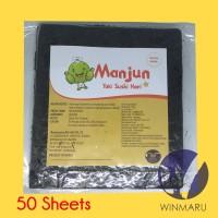 Sushi Nori Manjun Seaweed Rumput Laut 50 sheets/lembar
